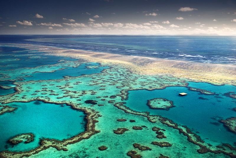1-Большой Барьерный риф в Австралии