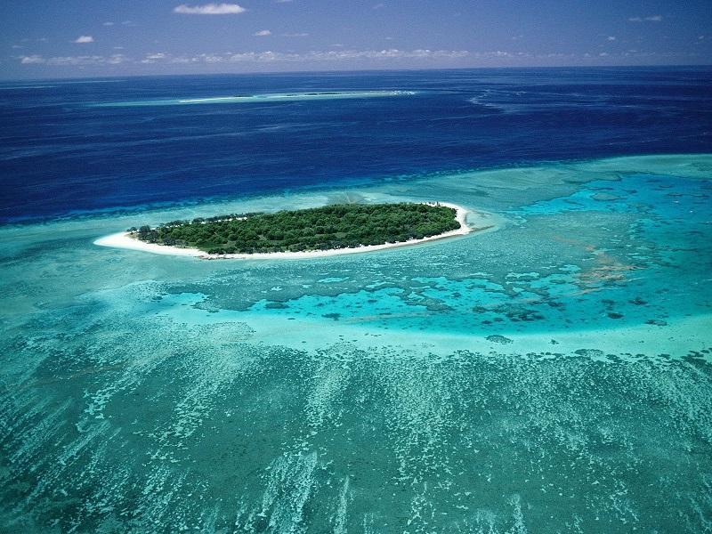 7-Большой Барьерный риф в Австралии