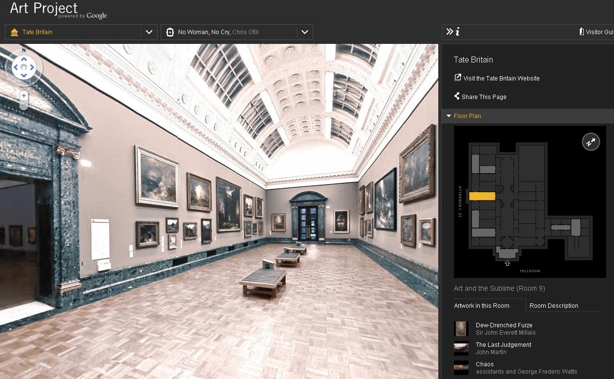 А чи всі знають, що у Google є можливість для віртуального відвідування 17 музеїв світу?