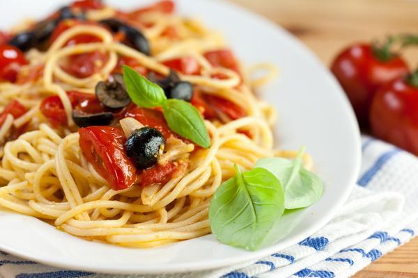 Прежде, чем ты начал есть спагетти...