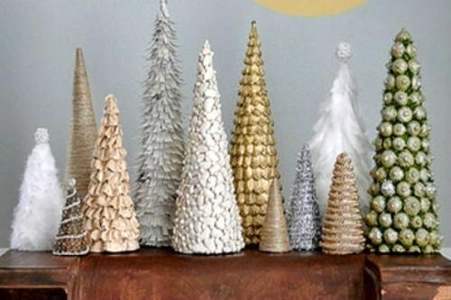 Изготовить новогоднюю елку своими руками