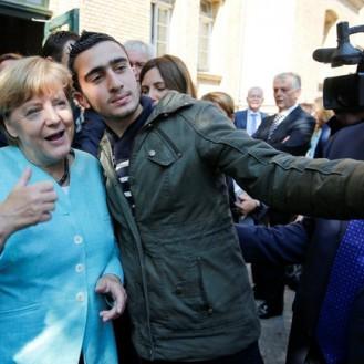 меркель сирия Лучший европейский анекдот 2015 года