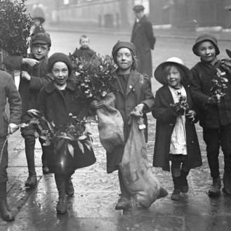 1910-1938. Рождественский Лондон