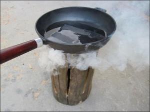 Походный вариант кухонной плиты. Лайфхак на миллион!