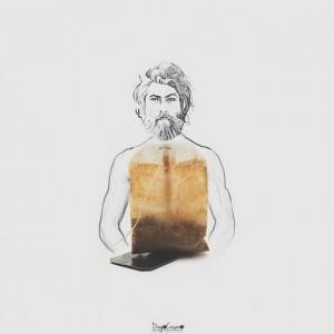 Иллюстрации с повседневными предметами Diego Cusano