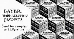 Героин — это бренд, созданный фармацевтической компанией Bayer AG