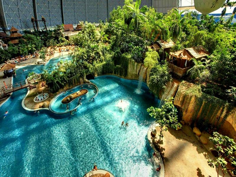 """Самый большой аквапарк на планете - """"Тропический остров"""" в Германии korysno.pro"""