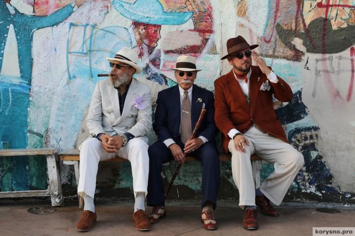 Возраст - не помеха: фотографии очень стильных пожилых людей