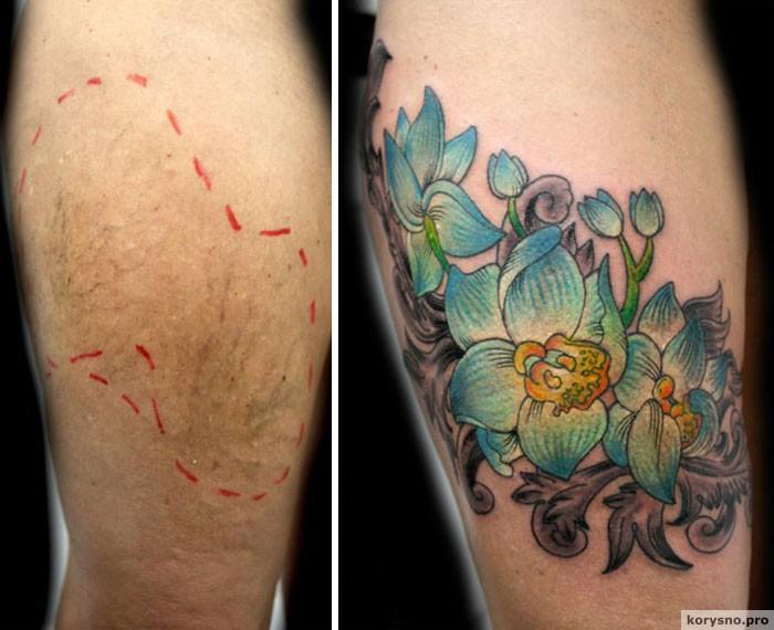 Этот мастер делает бесплатные тату пострадавшим женщинам