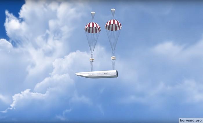 Как спастись из падающего самолета
