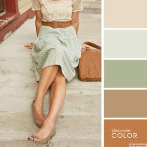 20 идеальных сочитаний цветов одежды10