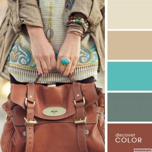 20 идеальных сочитаний цветов одежды11
