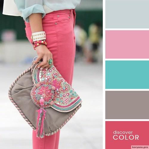 20 идеальных сочитаний цветов одежды14