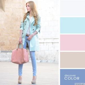 20 идеальных сочитаний цветов одежды15