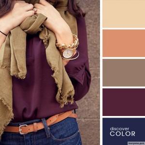 20 идеальных сочитаний цветов одежды16