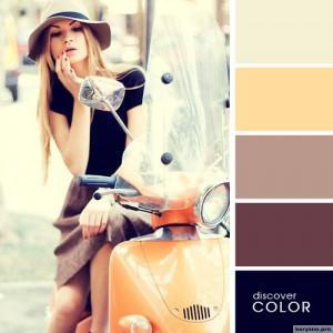 20 идеальных сочитаний цветов одежды2