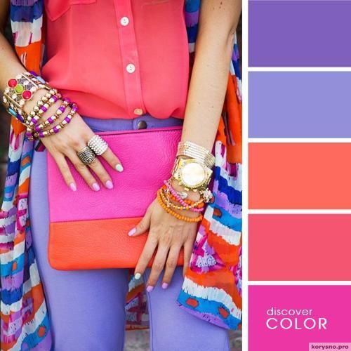20 идеальных сочитаний цветов одежды3