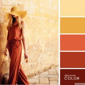 20 идеальных сочитаний цветов одежды5