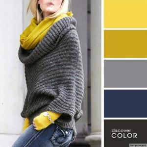 20 идеальных сочитаний цветов одежды8