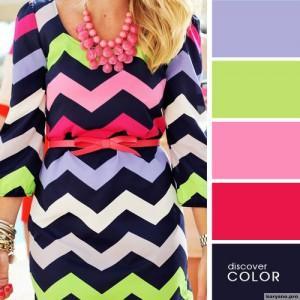 20 идеальных сочитаний цветов одежды9