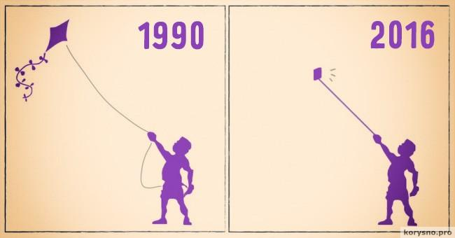 15 иллюстраций о том, как изменился мир