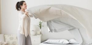 Почему не стои застилать постель