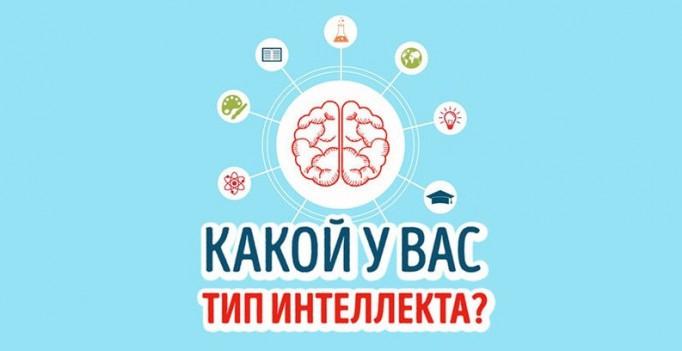 Тест: Каким типом интеллекта выобладаете?