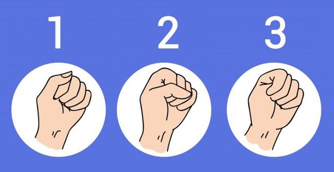 Этот тест выдаст о тебе всю правду: узнай, какие тайны скрывает сжатый кулак.