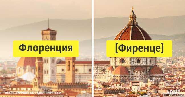 Как местные жители на самом деле называют свои города