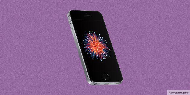 Как отличить iPhone SE от переодетого iPhone 5s