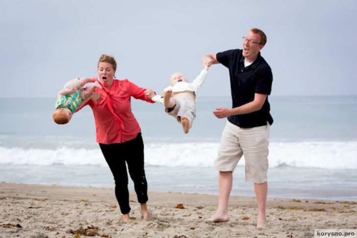 До боли нелепые семейные фотографии