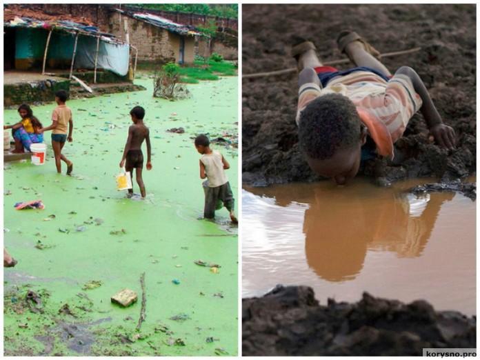 Жизнь в условиях дефицита питьевой воды
