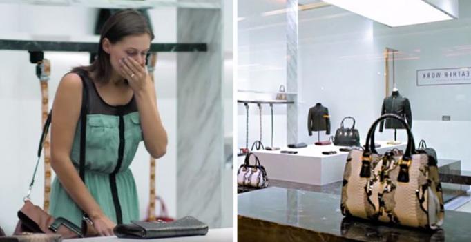 Что скрывается за кожей: PETA шокировала покупателей поддельными кожаными аксессуарами