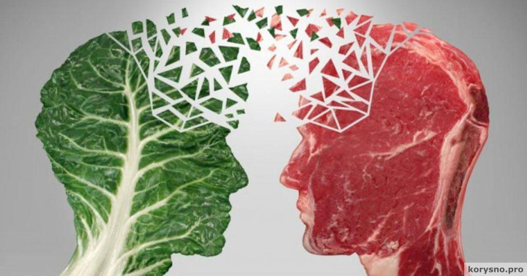 meat eaters vs vegetarians