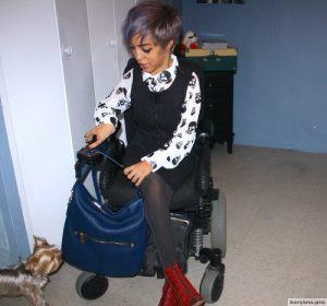 Джиллиан Меркадо: мода на инвалидной коляске
