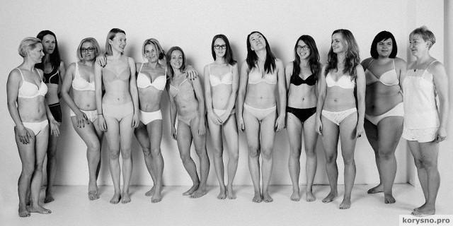 «Мы. Женщины» — это фотопроект литовского фотографа Неринги Рекашюте о настоящей женской красоте