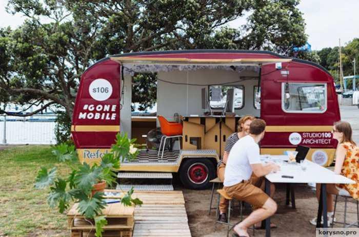 Мобильные офисы: смена места деятельности - есть отдых