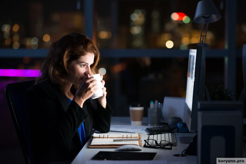 Проблемы со здоровьем связаны с работой по ночам