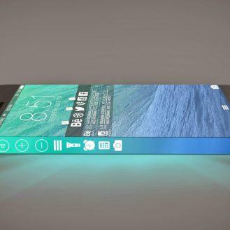 У iPhone 8 появятся боковые экраны