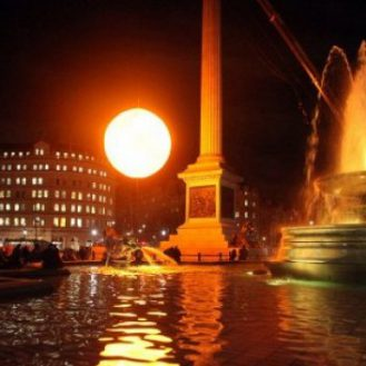 В Лондоне зажгли новое солнце