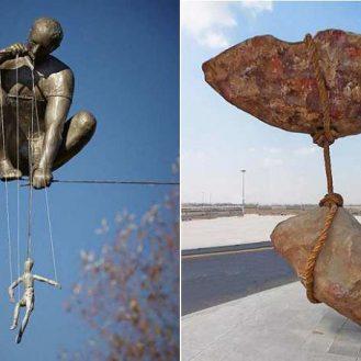 Вопреки гравитации 10 скульптур, нарушивших законы физики