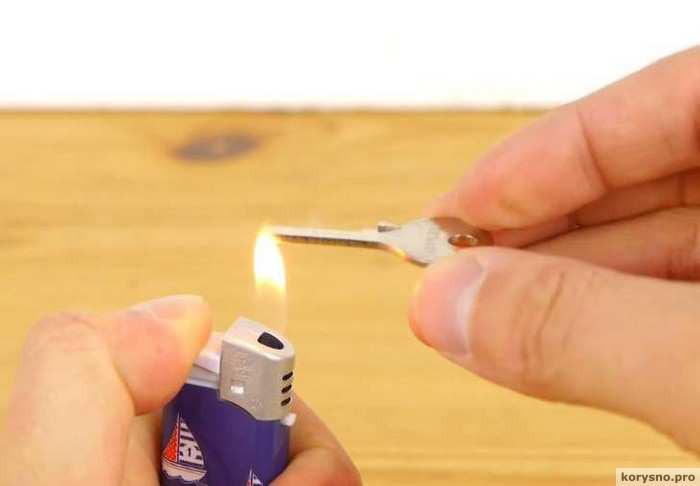 лайфхак как сделать дубликат любого ключа из подручных материалов