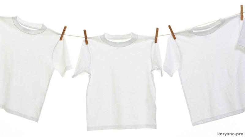 Как легко вывести желтые пятна на одежде