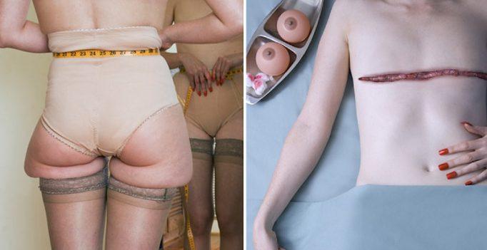12 будоражащих снимков того, на что идут женщины ради красоты. Не позавидуешь...