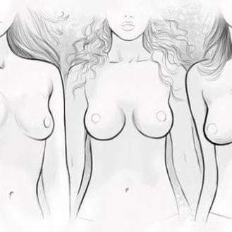 7 форм груди. Какая у вас?