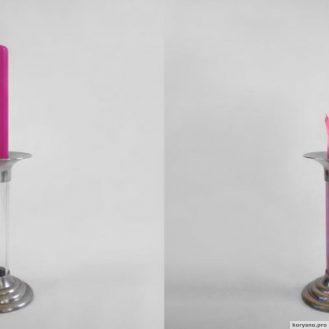 Блестящая идея самовосстанавливающейся свечки