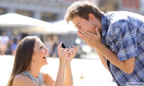 Как сделать предложение парню