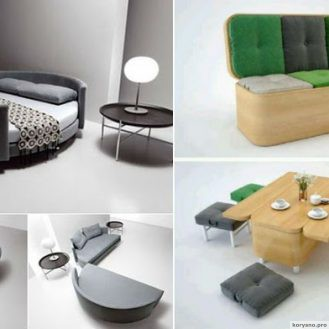 Многофункциональная мебель для жилищ скромных размеров