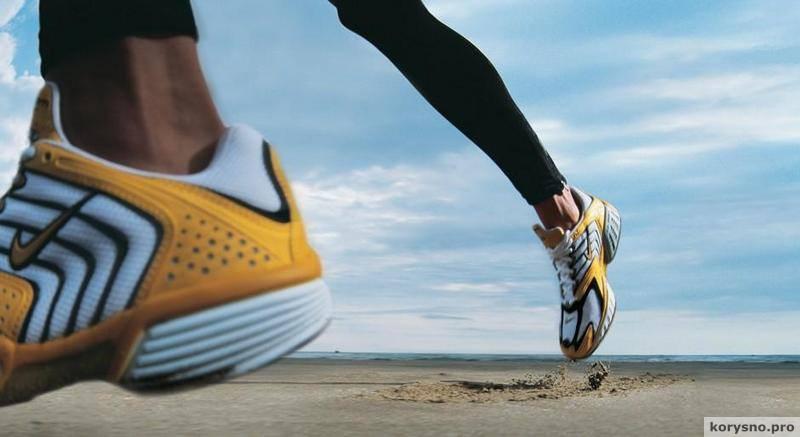 Ученые заявляют о вреде бега в кроссовках