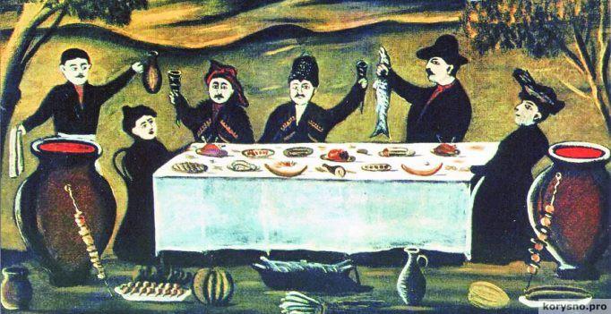 7 правил грузинского застолья